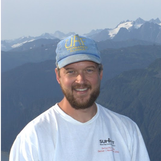 Cory Papenfuss overlooking Juneau